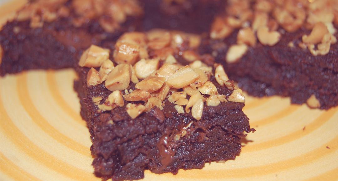 Mogyorós brownie