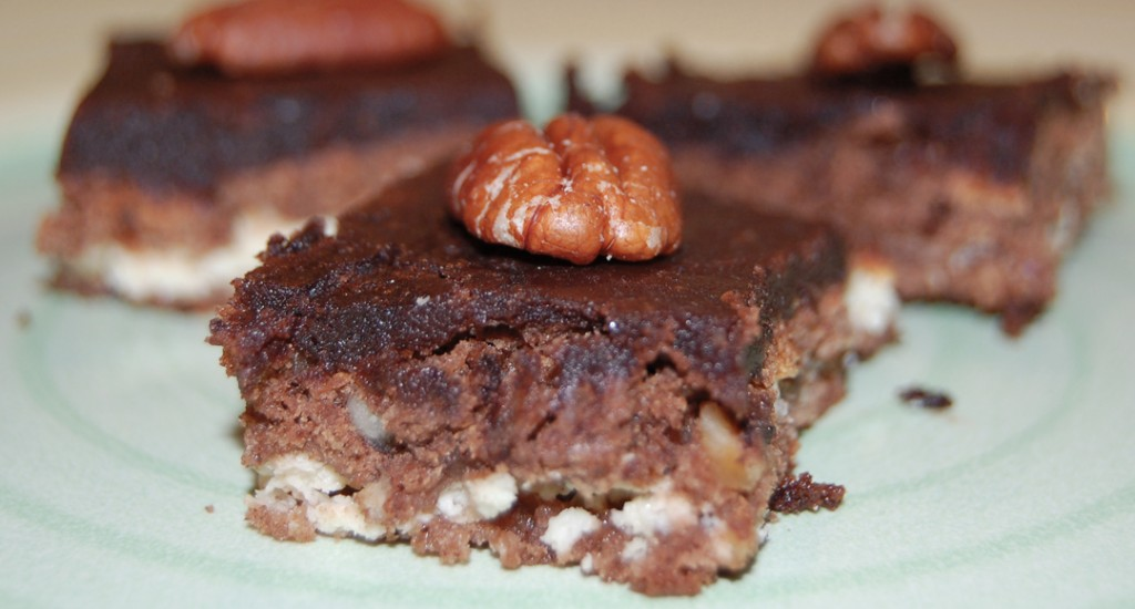 Túrós brownie