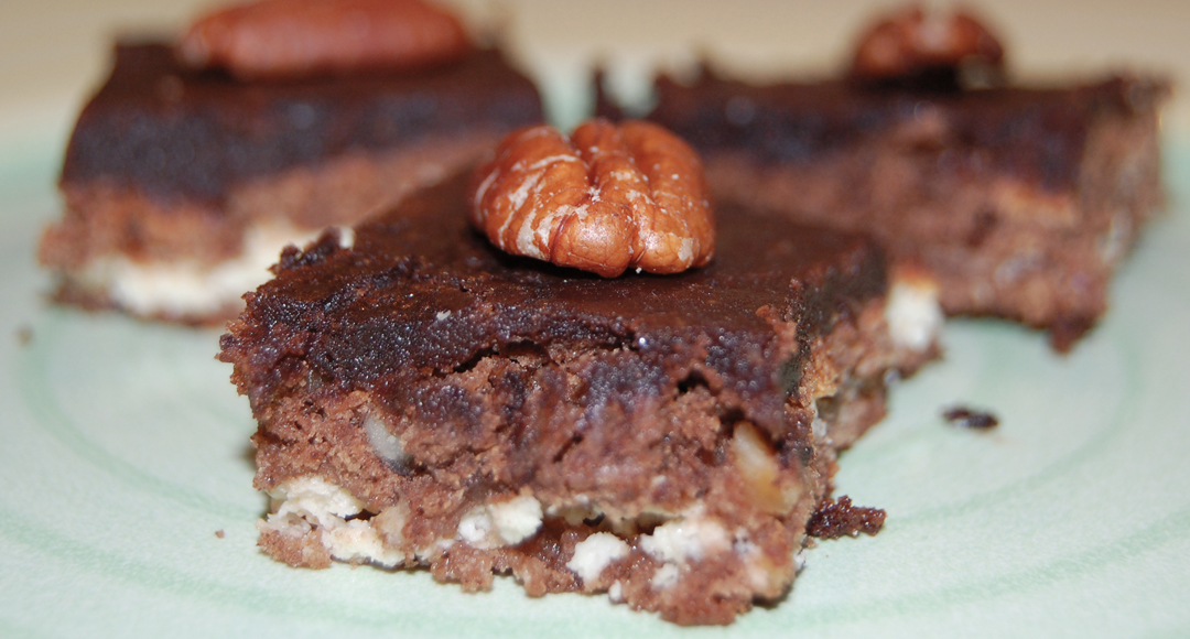 Túrós brownie