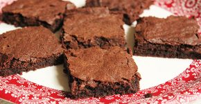 mézeskalácsos brownie