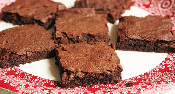 mézeskalácsos brownie