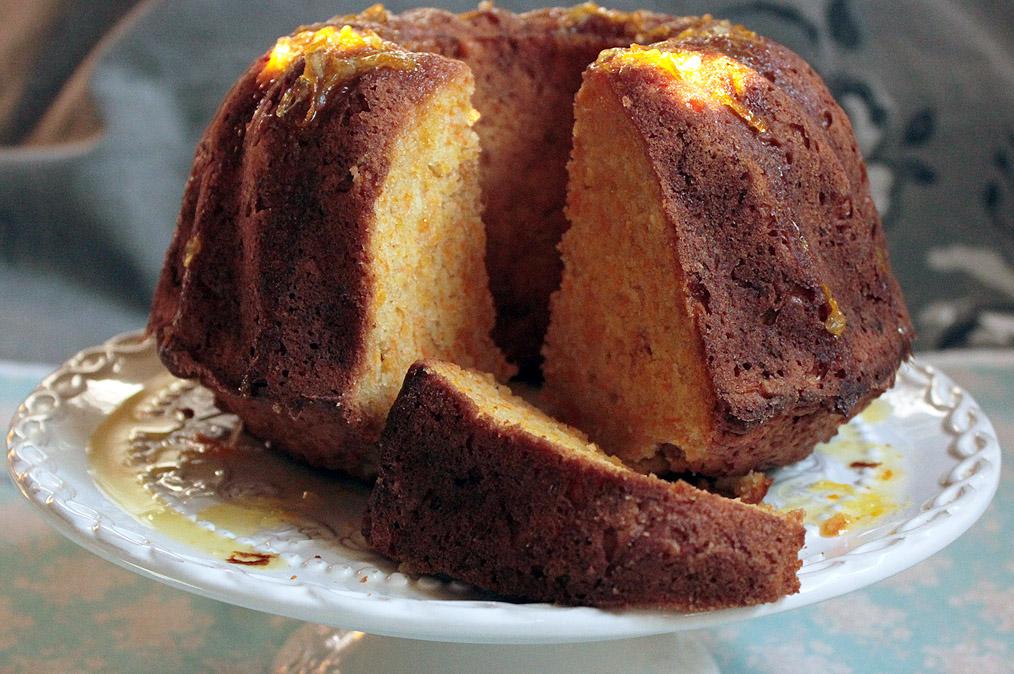 Narancsszirupos sütőtökös kuglóf