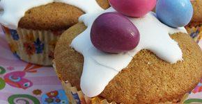 Húsvéti tojáslikőrös muffin