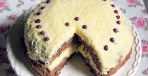 Kókuszkrémes torta