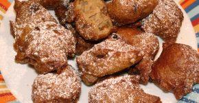 Mazsolás-csokis fánk