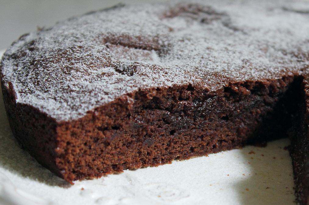 Svéd csokitorta, másnéven Kladdkaka